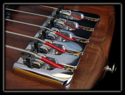Luthier Bass guitar